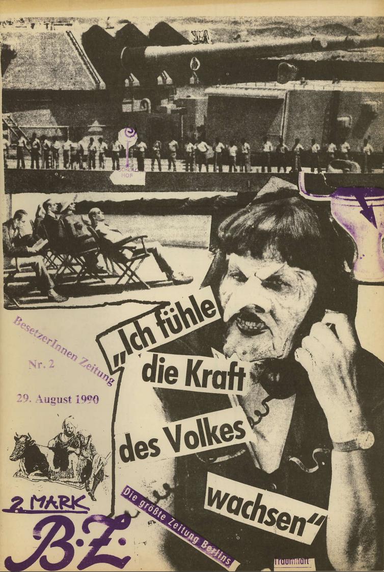 Faschistischer Angriff auf besetzte Häuser Marchstraße/Einsteinufer (Berlin-West) zurück geschlagen?!
