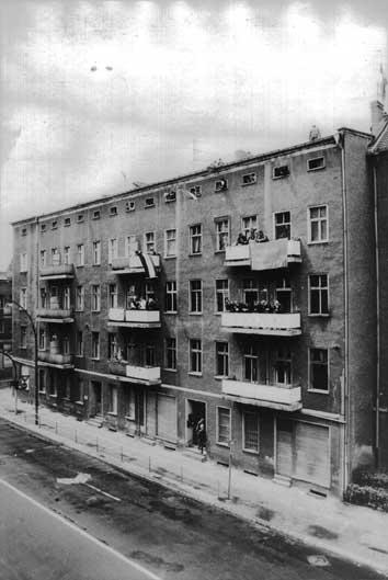 Das Neo-Nazi-Haus Weitlingstraße 122 in Berlin-Lichtenberg