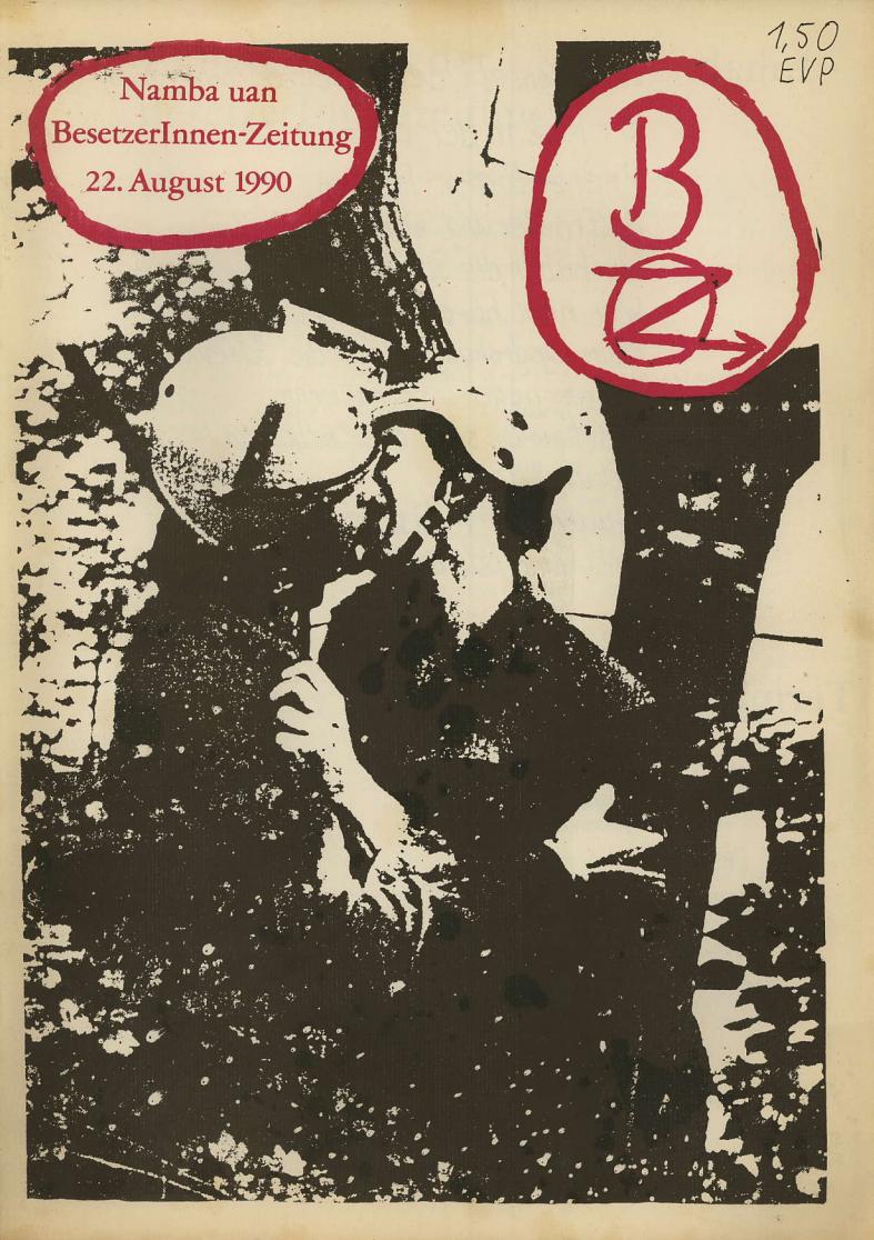 Naziangriff & Saufen mit Nazis? Ein öffentlicher Diskurs zwischen besetzten Häusern.