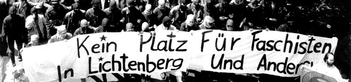 Faschisten in der DDR UND ANTIFASCHISTISCHER WIDERSTAND